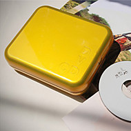 קייס פלסטיק תקליטור (24 יח) -5 צבעים זמינים