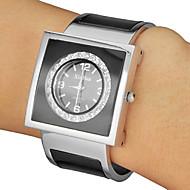 Damen Armband-Uhr Quartz Band Vintage Schwarz Marke