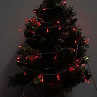 Outdoor 10M 100-LED della luce rossa LED Light Strip decorazione di Natale della lampada (220-240V)