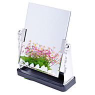 "10""H Classic Rectangle Tabletop Metal Mirror"