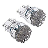 2Stk T25 3157-24-LED 80-100LM White Light-LED für Auto (12V)