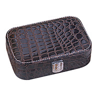 Jewelry Boxes PU Leather withFeature is Lidded , For Jewelry