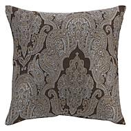 "18 ""Squard Euro Flower Jacquard Polyester Dekorativa Kuddfodral"