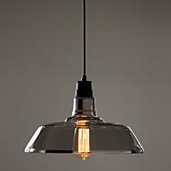 Max 60W Vintage Bulb Included Electroplated Pendant Lights Living Room / Bedroom / Dining Room / Entry / Hallway / Garage