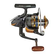 גלילי דיג סלילי טווייה 5.5:1 10 מיסבים כדוריים ניתן להחלפה / ימינים / איטר דיג בים / Spinning / דייג במים מתוקים - HYD7000