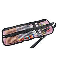 48 slots canves potlood houder (willekeurige kleur)
