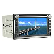Universal 6.2 Inch In-Dash Car DVD Player Support GPS,BT,RDS,IPOD,FM,Touch Screen