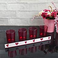 """11 """"H Modern Style Glass Votivní svíčka"""