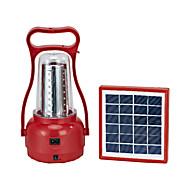 35-LED White Light LED Solar Light Camping Lantern  Emergency Light