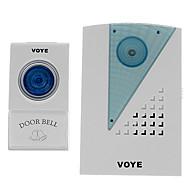 Voye V001A 38 Tunes Uzaktan Kumanda Kablosuz Doorbell Kapı Bell