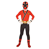 Power Rangers Samurai Red Lycra Full Body Kids' Zentai
