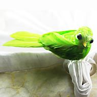 Plume d'oiseau de mariage Serviette Set de 12, Plume Dia 4.5cm