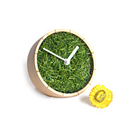 """2.5""""H High Class Country Type Analog Tabletop Clock"""