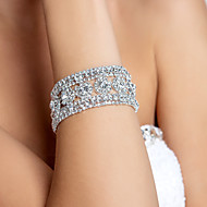 Elegant Alloy With Rhinestone Women's Bracelet (More Colors)