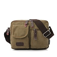 Fashion Men Women Canvas Messenger Shoulder Bag