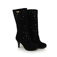 Suede Women's High-heel Fashion Platform Martin Boots (More Colors)