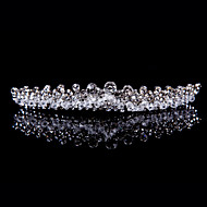 Crystal Alloy Tiaras With Rhinestone Wedding/Party Headpiece