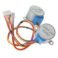 dc 5v 28ybj-48 krokový motor pro (pro Arduino) ((pracuje s oficiální (pro Arduino) desky / 2 ks)