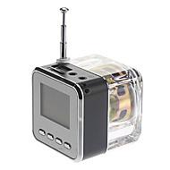 Cube Style Media Speaker FM-radio, SD-kortti Tuetut (Assorted Colors)
