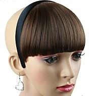 Frauen synthetischer Haarteil mit Haarband hitzebeständige Faser preiswerte Cosplay Partei-Haarband