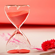 Table Centerpieces 15 Minutes Hourglass with Red Sand  Table Deocrations