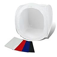 80 * 80CM Photo Studio Soft Box Schieten Cube Tent Softbox Photo Light Tent + Portable Bag + 4 Backdrops
