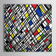 Stretched Canvas Art Pop Art Some Random Geometric Shapes Ready to Hang