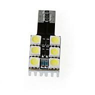 T10 W5W 194 168 6 5050 Side SMD Blanco de Canbus del coche LED Lámpara Bombilla Luz