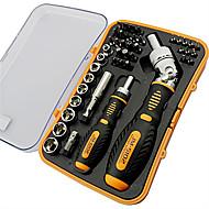 20*13.5*4.5 cm 43 PCS Carbon Hand Tools Set