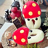 Creative Red Mushroom Wool Naisten Slide Slipper