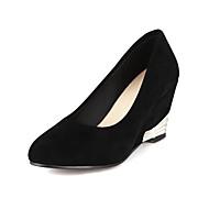 Suede Women's Wedge Heel Wedges Pumps/Heels Shoes(More Colors)