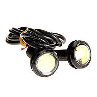 Paire 3W High Power LED ultra-mince Led Eagle Eye lumière de queue feux de recul arrière de couleur blanche 2786