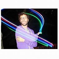 verblinden kleur magische vingers led verlichting (4 kleuren / sets, kleur randoms)