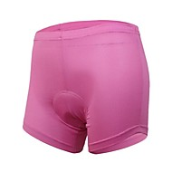 Arsuxeo Women's Cycling Underwear Shorts with Coolmax 3D Pad Pink