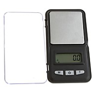 200g * 0,01 g LCD Digital Pocket Smykker Coin Gold Scale