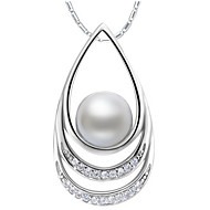 Ladies'/Women's Alloy Necklace Anniversary/Engagement/Birthday/Gift/Party/Daily/Causal/Office & Career/Outdoor Imitation Pearl