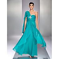 Formal Evening/Prom/Military Ball Dress - Jade Plus Sizes Sheath/Column Sweetheart Ankle-length Chiffon/Stretch Satin