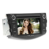 7Inch 2 DIN In-Dash Car DVD Player for Toyota RAV4 2006-2012 with GPS,BT,IPOD,RDS,FM,TV