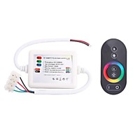 216W Wireless RF Touching RBG LED Strip Controller with Receiver (DC 12~24V)