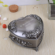 Gifts Bridesmaid Gift Personalized Vintage Heart Shaped Tutania Jewelry Box