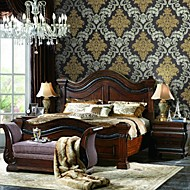 Modern Damask Non-woven Wallcoverings