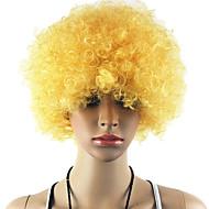 Schwarz Afro Perücke Cosplay Fans bulkness Weihnachten Halloween Perücke blonde Perücke Goldenen 1pc/lot