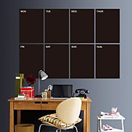 Vinly Rectangle Blackboard  Wall Stickers Wall Decals