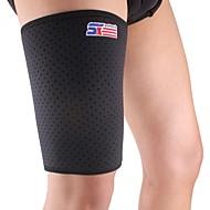 Sport Badminton Elastické natahovací stehna Brace Podpora Wrap Band - zdarma Velikost