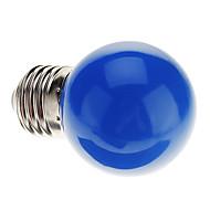 0.5W E26/E27 LED Globe Bulbs G45 7 Dip LED 50 lm Blue Decorative AC 220-240 V