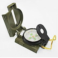 Military Marching Duty Camping kompas med Scale - Army Grøn