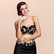 Wrist Length Fingertips Glove Satin Party/ Evening Gloves/Bridal Gloves