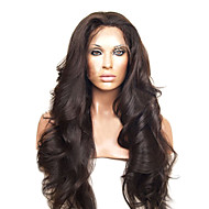 20inch Peruvian Virgin Human Hair Full Lace Wigs Natural Hairline