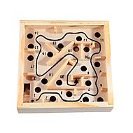 Kinder Schaukel und Rollkugeln Holz Labyrinth-Spiel Bilanz Übung Lernspielzeug