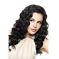 18Inch Lace Front Wigs Indian Remy Human Hair Natural Wave